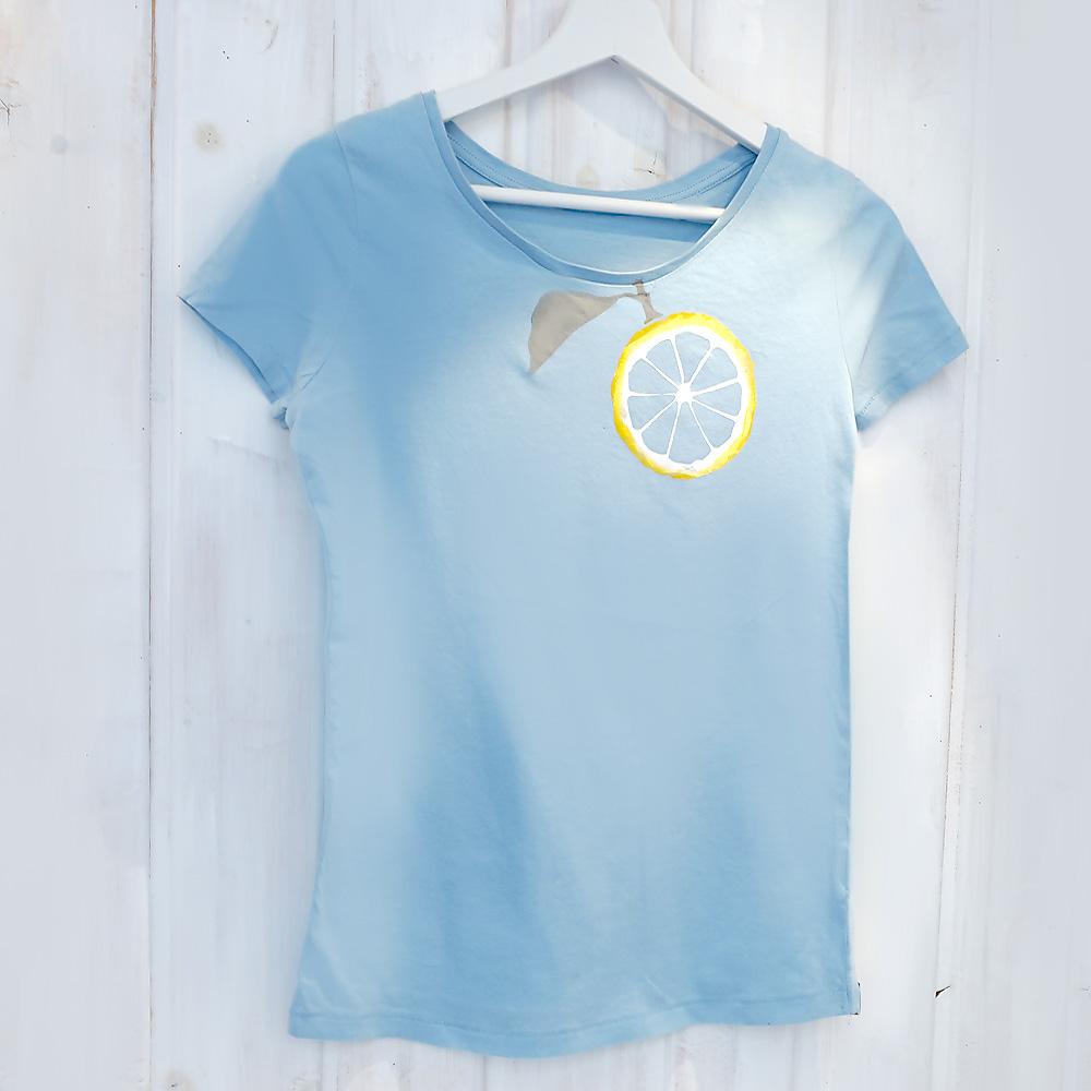 T-Shirt mit Zitrone